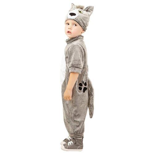 Купить Костюм Батик Волк (913 к-17), серый, размер 104-52, Карнавальные костюмы
