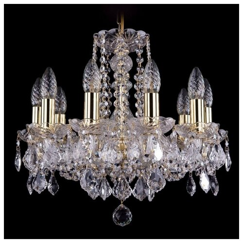 Люстра Bohemia Ivele Crystal 1402 1402/10/141/XL-58/G, 400 Вт bohemia ivele crystal 1402 1402 16 400 g 640 вт