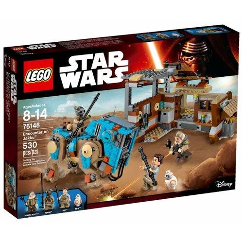 Купить Конструктор LEGO Star Wars 75148 Столкновение на Джакку, Конструкторы