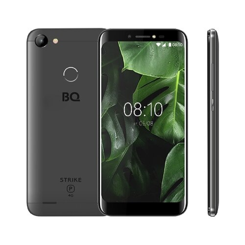 Смартфон BQ 5514L Strike Power 4G серый смартфон