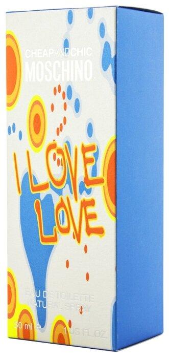 Туалетная вода MOSCHINO Cheap&Chic I Love Love