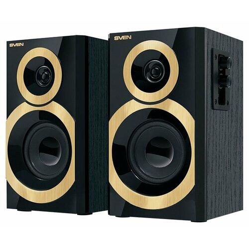 Компьютерная акустика SVEN SPS-619 GOLD черный / золотой