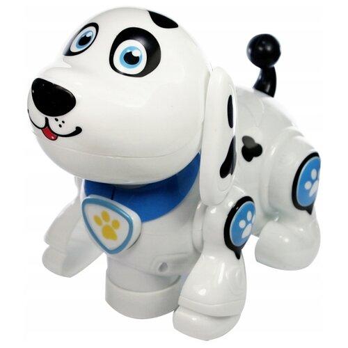 Фото - Робот 696 Toys Funny Animals Песик 696-25 белый/черный/синий 696