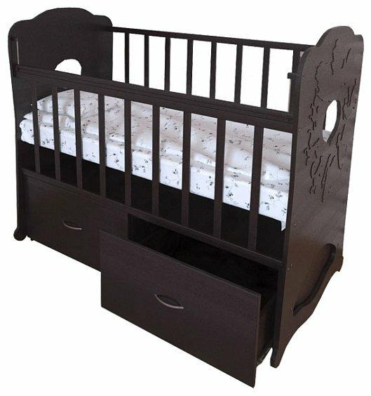 Кроватка Perinka Репка (маятник поперечный)