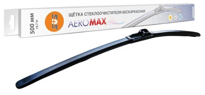 Щетка стеклоочистителя бескаркасная SVS AeroMax 500 мм
