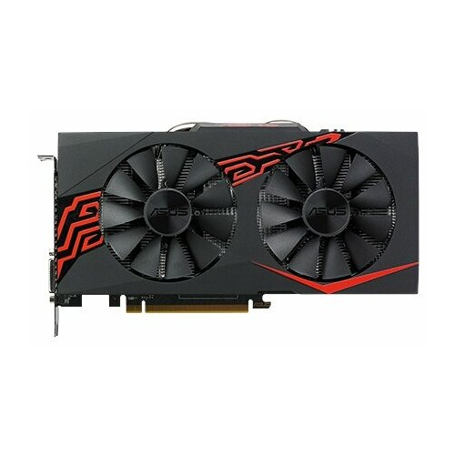 Видеокарта ASUS Radeon RX 570 1256MHz PCI-E 3.0 4096MB 7000MHz 256 bit DVI HDMI HDCP Expedition OC Retail