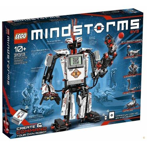 Электронный конструктор LEGO Mindstorms EV3 Создай и командуй 31313 цена 2017