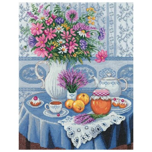 Купить PANNA Набор для вышивания Вересковый мёд 28 х 34.5 см (N-7132), Наборы для вышивания