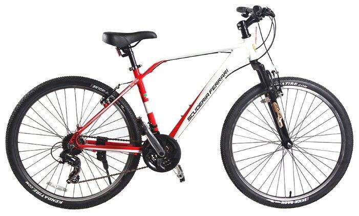 STELS Велосипед горный Focus V, черный/красный [LU073821]