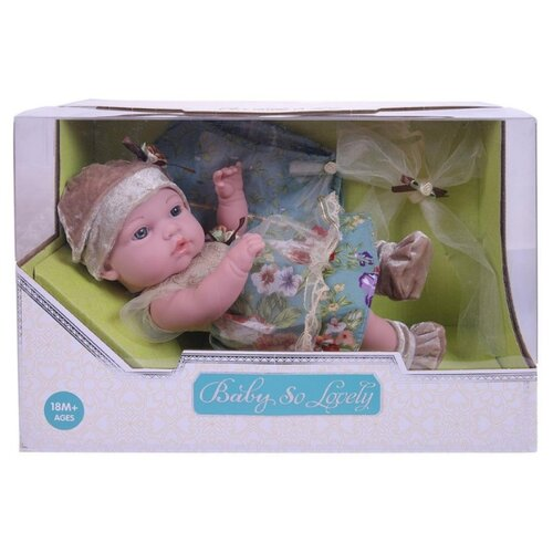 Пупс Junfa toys Baby So Lovely, 30 см, 1917-1 пупс junfa toys baby so lovely 30 см 1917 2
