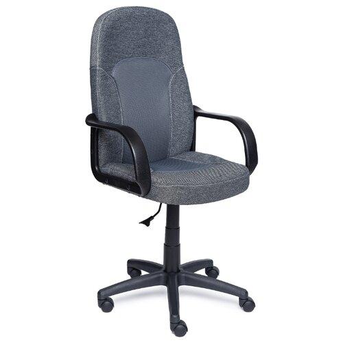 Компьютерное кресло TetChair Парма офисное, обивка: текстиль, цвет: серый кресло офисное tetchair leader 207 серый