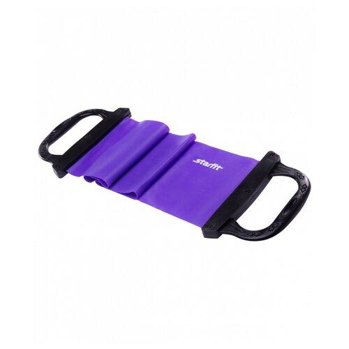 Эспандер лента Starfit ES-202 75 х 14.5 см фиолетовый эспандер лента starfit es 201 1200х150х0 45 мм 120 х 15 см синий