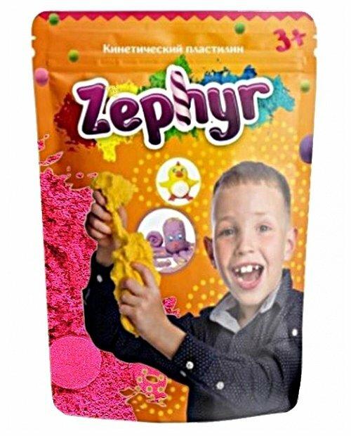 Масса для лепки Zephyr розовая 300 г Дой-пак (00-00000810/Z114)