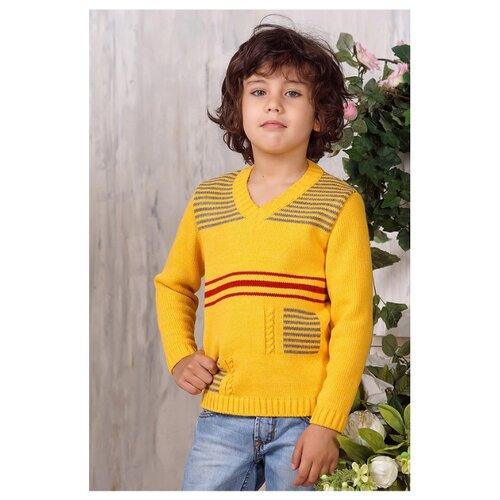 Джемпер Веснушки размер 104, желтыйСвитеры и кардиганы<br>