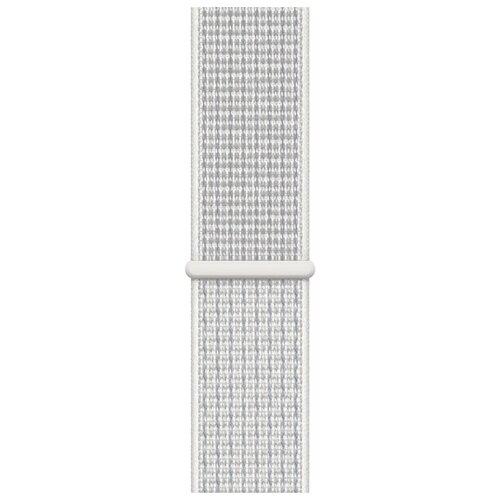 Apple Спортивный браслет Nike (для корпуса 40 мм) снежная вершина