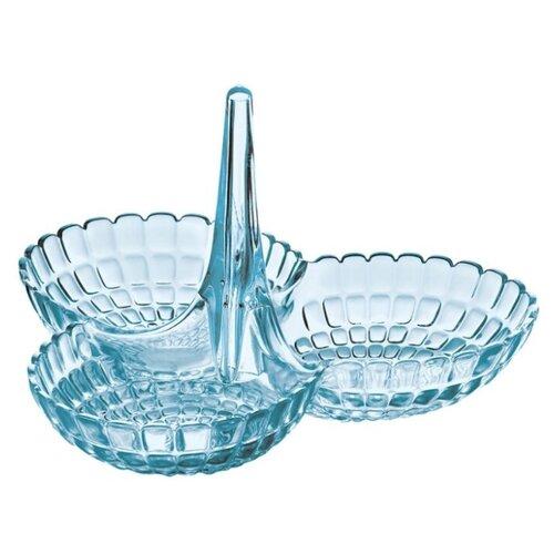 Guzzini Менажница Tiffany голубой guzzini менажница tiffany 25х23 5х15 5 см коралловая 19920023 guzzini
