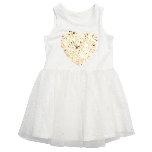 Платье playToday размер 68, белый