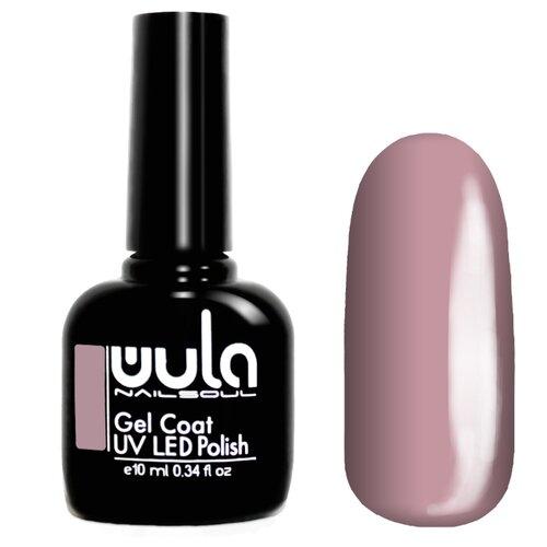 Гель-лак для ногтей WULA Gel Coat, 10 мл, оттенок 344 светлый серо-розовый гель лак для ногтей wula gel coat 10 мл оттенок 367 серо зеленый