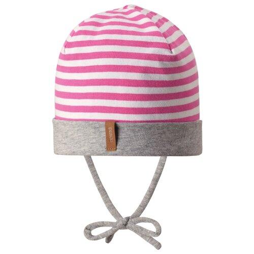 Шапка Reima размер 48, розовый/белыйГоловные уборы<br>