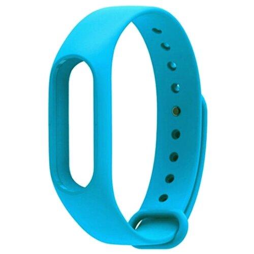 Titan Ремешок силиконовый для Xiaomi Mi Band 2 голубой
