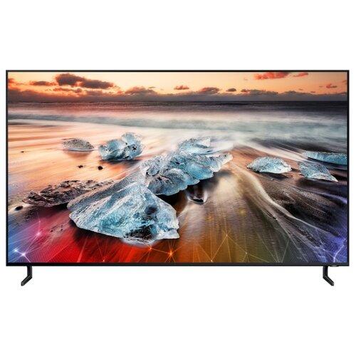 Фото - Телевизор QLED Samsung QE75Q900RBU 74.5 (2019) черный телевизор qled samsung qe49q77rau 49 2019 черный графит