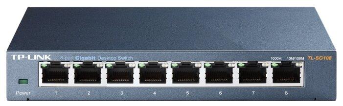 TP-LINK Коммутатор TP-LINK TL-SG108