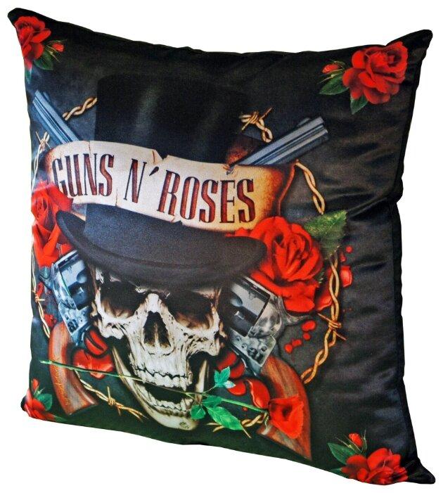 Подушка декоративная Gift'n'Home Guns N' Roses 35х35 см (PLW-35 GnR)