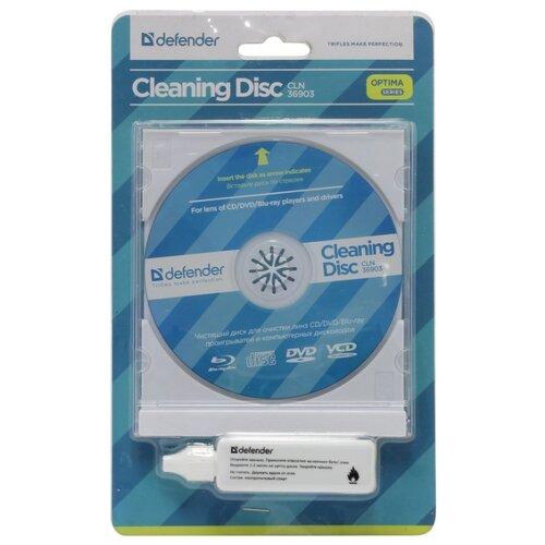 Набор Defender Cleaning Disk CLN 36903 Optima чистящий диск CD/DVD+чистящая жидкость для оптики
