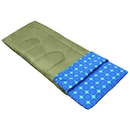 Спальный мешок PicRest Camping темно-зеленый