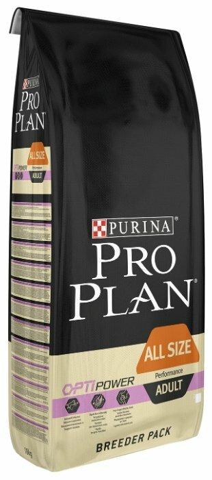 Корм для собак Purina Pro Plan Optipower курица с рисом 18 кг