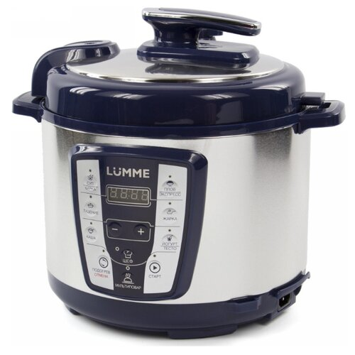Скороварка/мультиварка LUMME LU-1450 синий сапфир