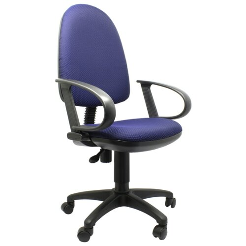 Компьютерное кресло Бюрократ CH-300 офисное, обивка: текстиль, цвет: синий JP-15-5 фото