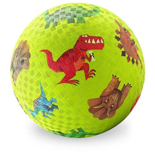 Мяч Crocodile Creek Динозавры зеленый crocodile crocodile cr215f yellow