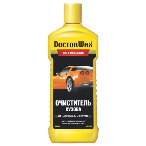 Очиститель кузова Doctor Wax от насекомых и битума DW5628, 0.3 л