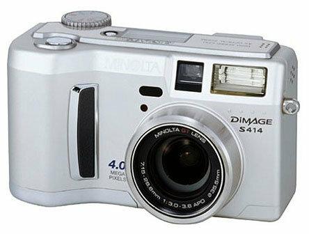 Фотоаппарат Minolta DiMAGE S414