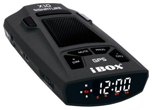 Радар-детектор iBOX X10 Signature, черный
