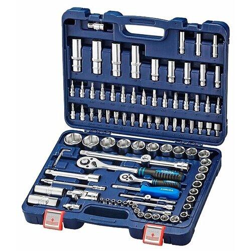 Набор автомобильных инструментов Koruda (94 предм.) KR-4094 синий набор автомобильных инструментов союз 48 предм 1045 20 s48c синий