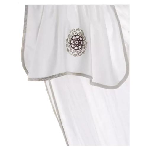 Балдахин Bebe Luvicci Royal белый/серый