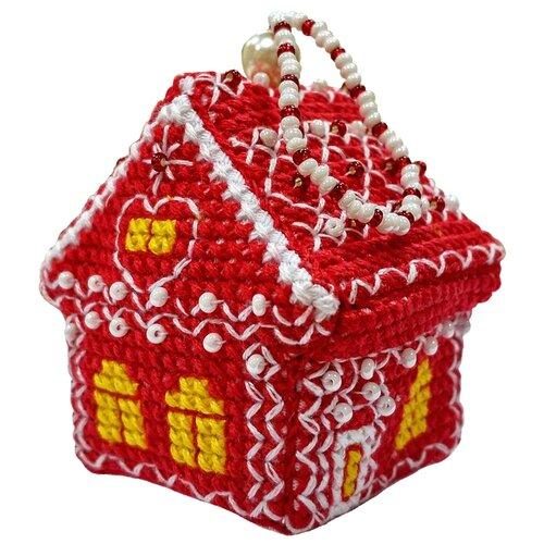 Купить ZENGANA Набор для вышивания бисером и нитками Земляника 5 х 4 х 5 см (М-067), Наборы для вышивания