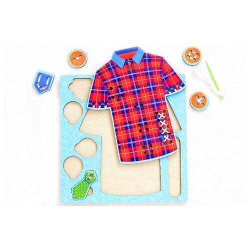 Купить Шнуровка Мастер игрушек Иглоборд рубашка (IG0327), Шнуровки