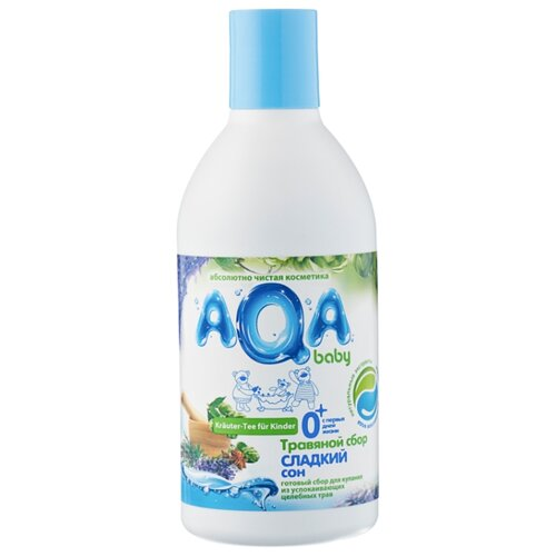 AQA baby Травяной сбор для купания Сладкий сон 300 мл