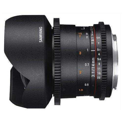 Фото - Объектив Samyang 14mm T3.1 ED AS IF UMC VDSLR II Canon EF объектив samyang 50mm f 1 4 as umc canon ef