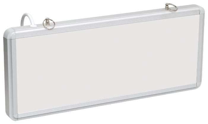 Светильник аварийно-эвакуационный светодиодный ССА1005 односторонний 1,5ч 3Вт без наклейки IEK LSSA0-1005-003-K03