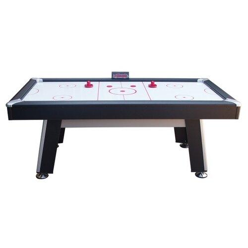 Игровой стол для аэрохоккея DFC Tampa Bay ES-AT-8442E3 черный/серый