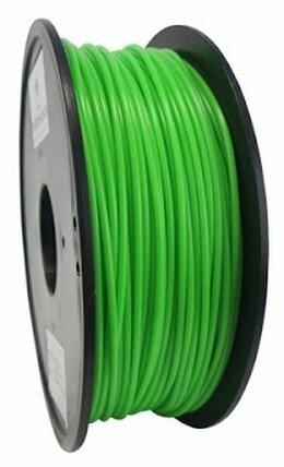 PLA пруток Wanhao 3 мм кислотно-зеленый