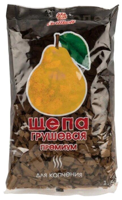 Grillkoff Щепа для копчения «Премиум», груша, 1.5 л