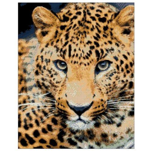 Купить Гранни Набор алмазной вышивки Леопард (Ag 462) 38х48 см, Алмазная вышивка