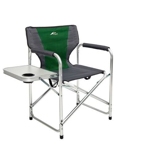 Кресло TREK PLANET Chester Alu зеленый/серый цена 2017