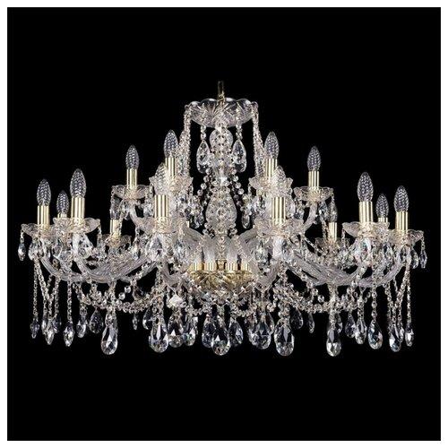 Фото - Люстра Bohemia Ivele Crystal 1413 1413/12+6/360/G, E14, 720 Вт люстра bohemia ivele crystal 1413 18 400 g e14 720 вт
