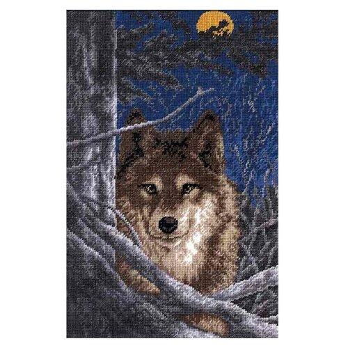 Купить Hobby & Pro Набор для вышивания Волк 18 х 28 см (602), Наборы для вышивания